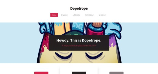 Dopetrope I HTML5 UP