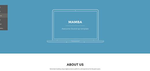 Mamba - Bootstrap 3-1