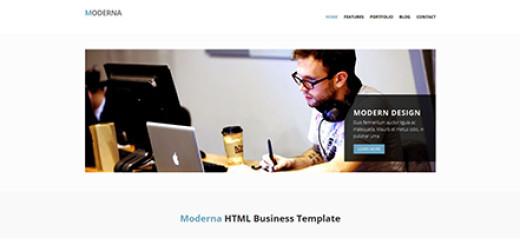 Moderna - Bootstrap 3-1