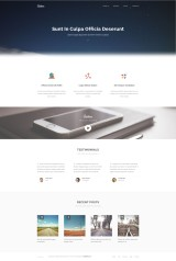 Sublime - stunning free HTML5_CSS3 website template